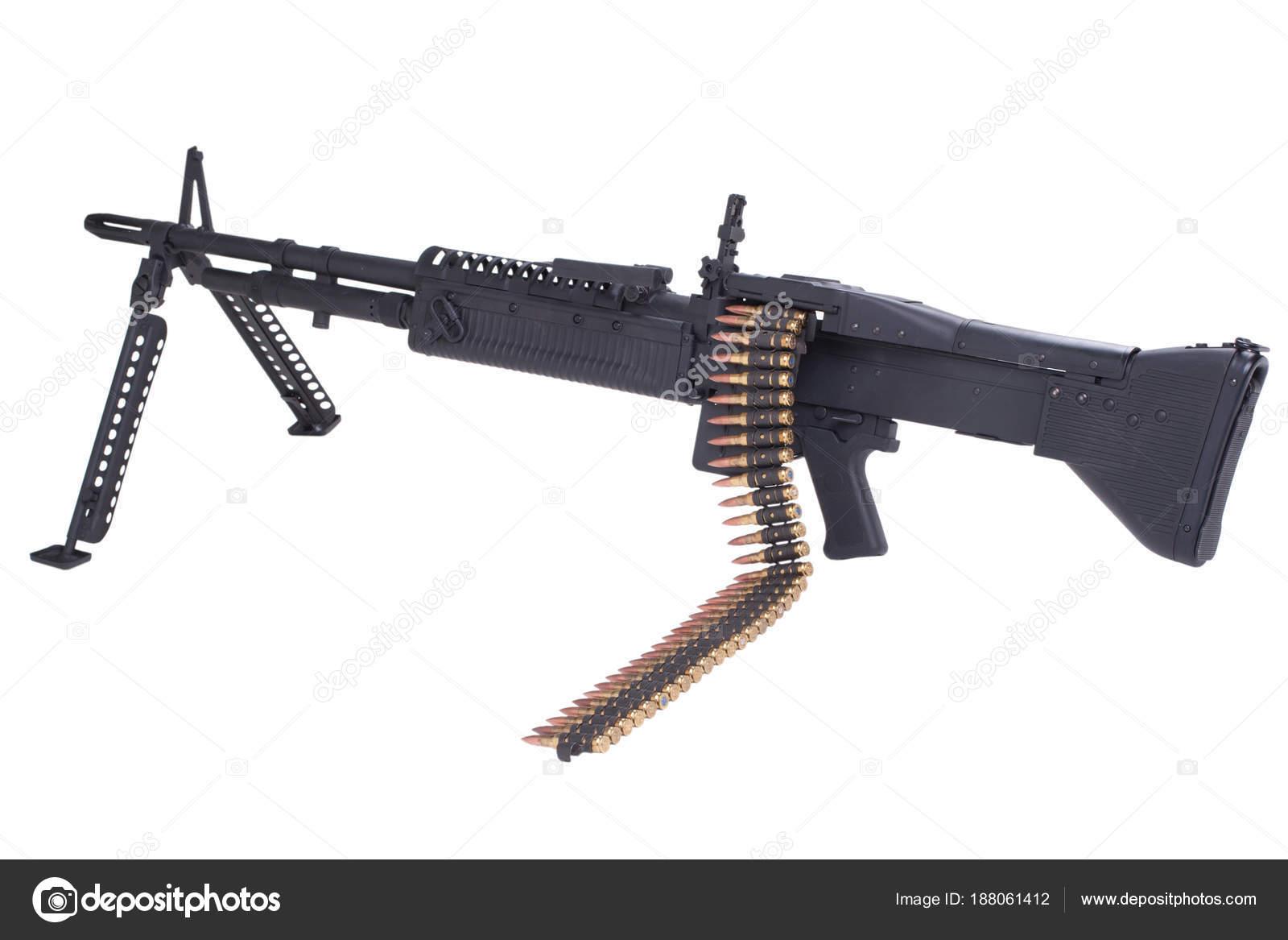 m60 machine gun with amminition tape stock photo zim90 188061412