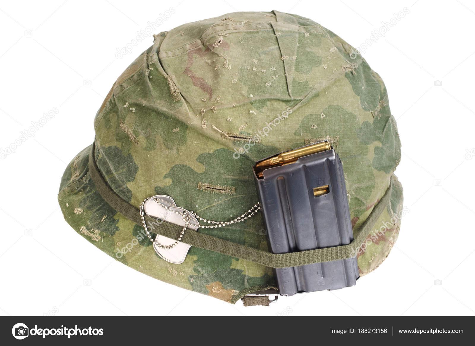 Army Helmet Vietnam War Period 1964 1974 Stock Photo C Zim90 188273156