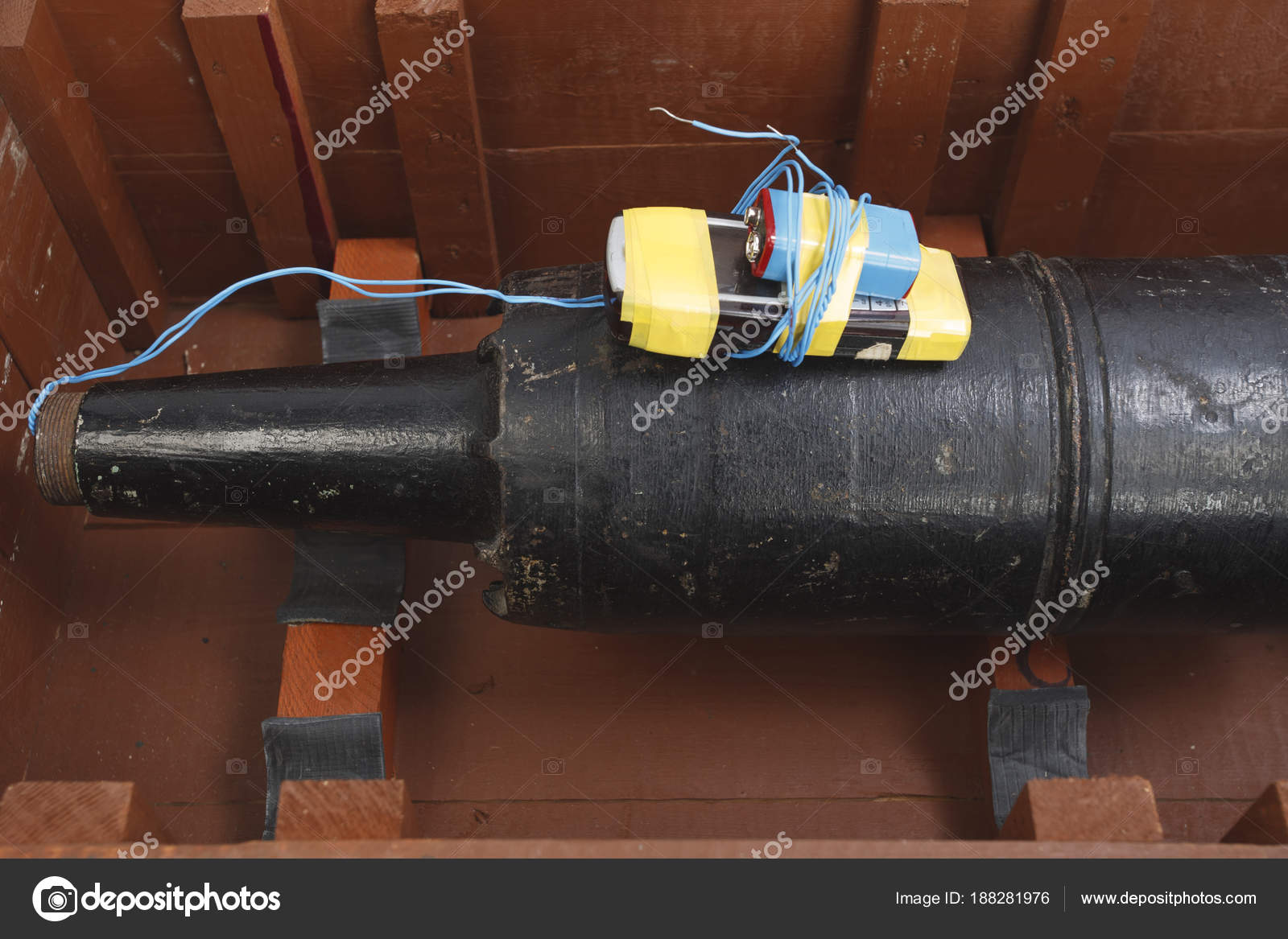 125 mm ソビエト タンク熱発射 I...