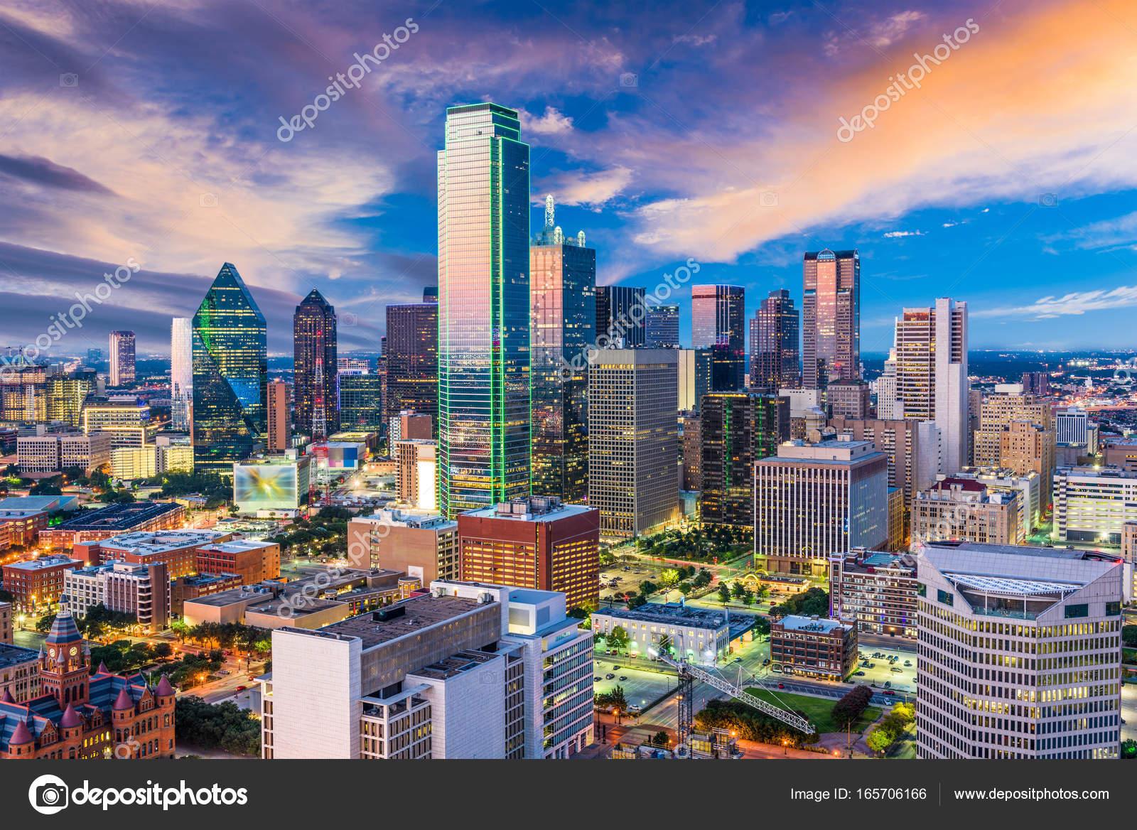 dallas texas skyline stock photo sepavone 165706166