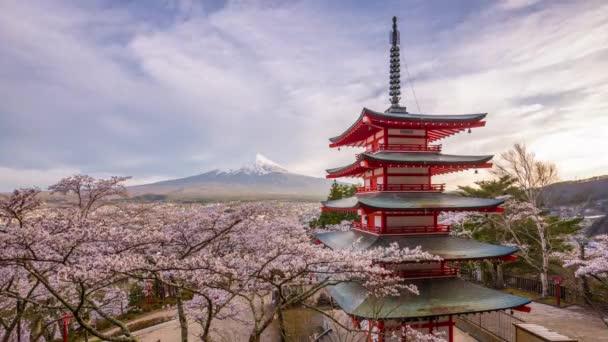 Fujiyoshida, Japonsko na Chureito Pagoda