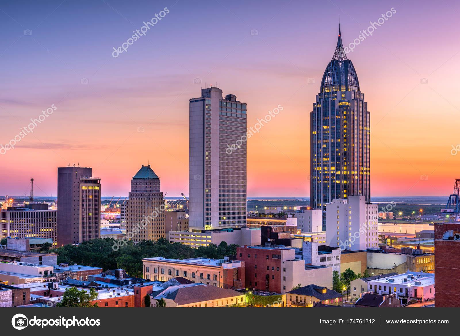 Mobile Alabama Usa Stockfoto Sepavone 174761312