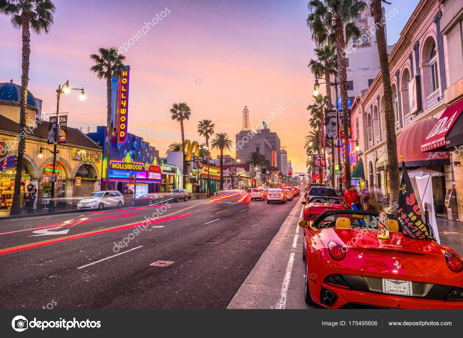 hollywood boulevard california stock editorial photo sepavone