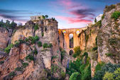 Photo Ronda Spain Puente Nuevo Bridge