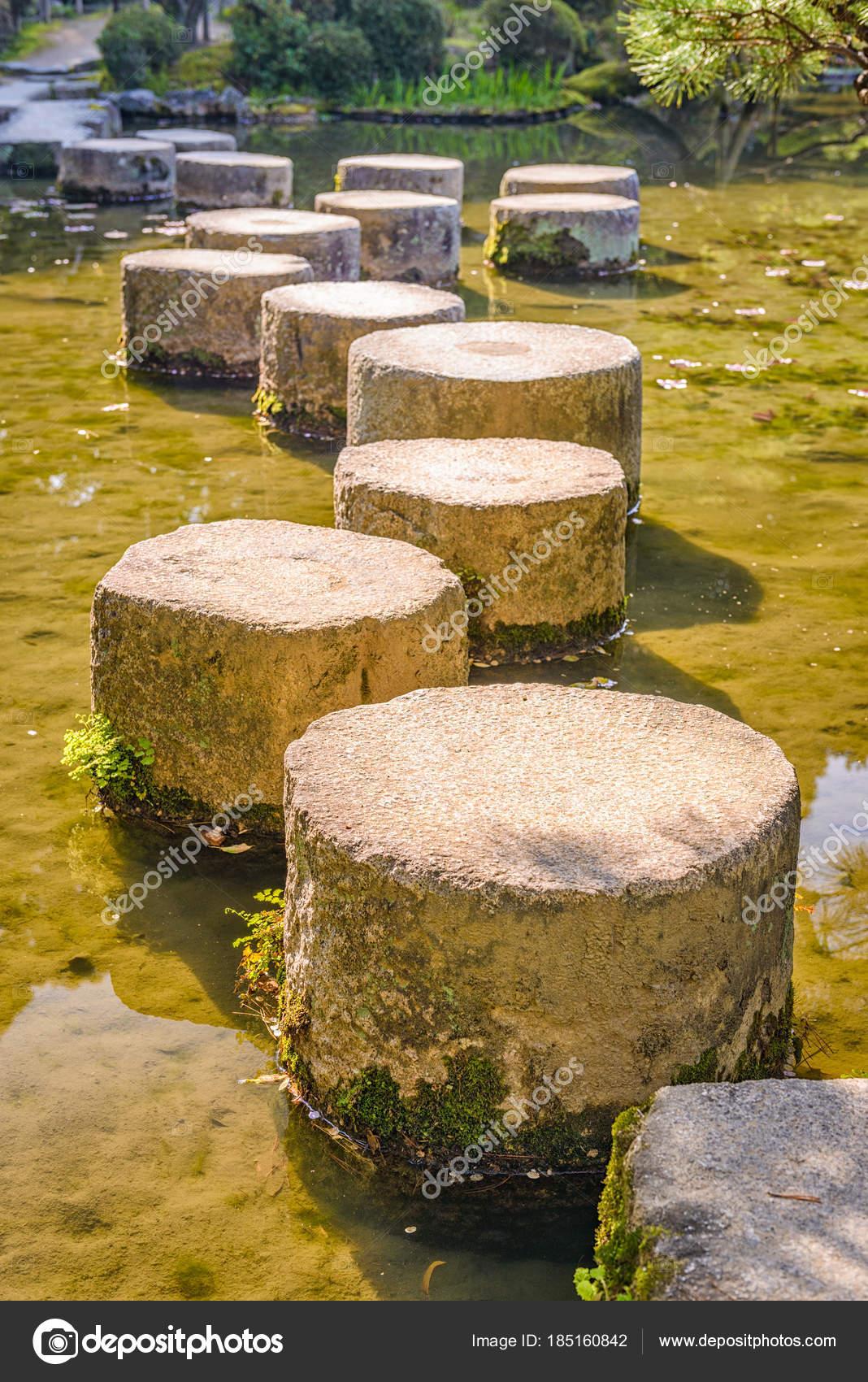 Stepping Stones in Japan — Stock Photo © sepavone #185160842