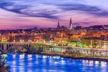 Georgetown, Washington DC, USA on the Potomac