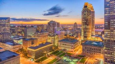 Cleveland, Ohio, USA Cityscape