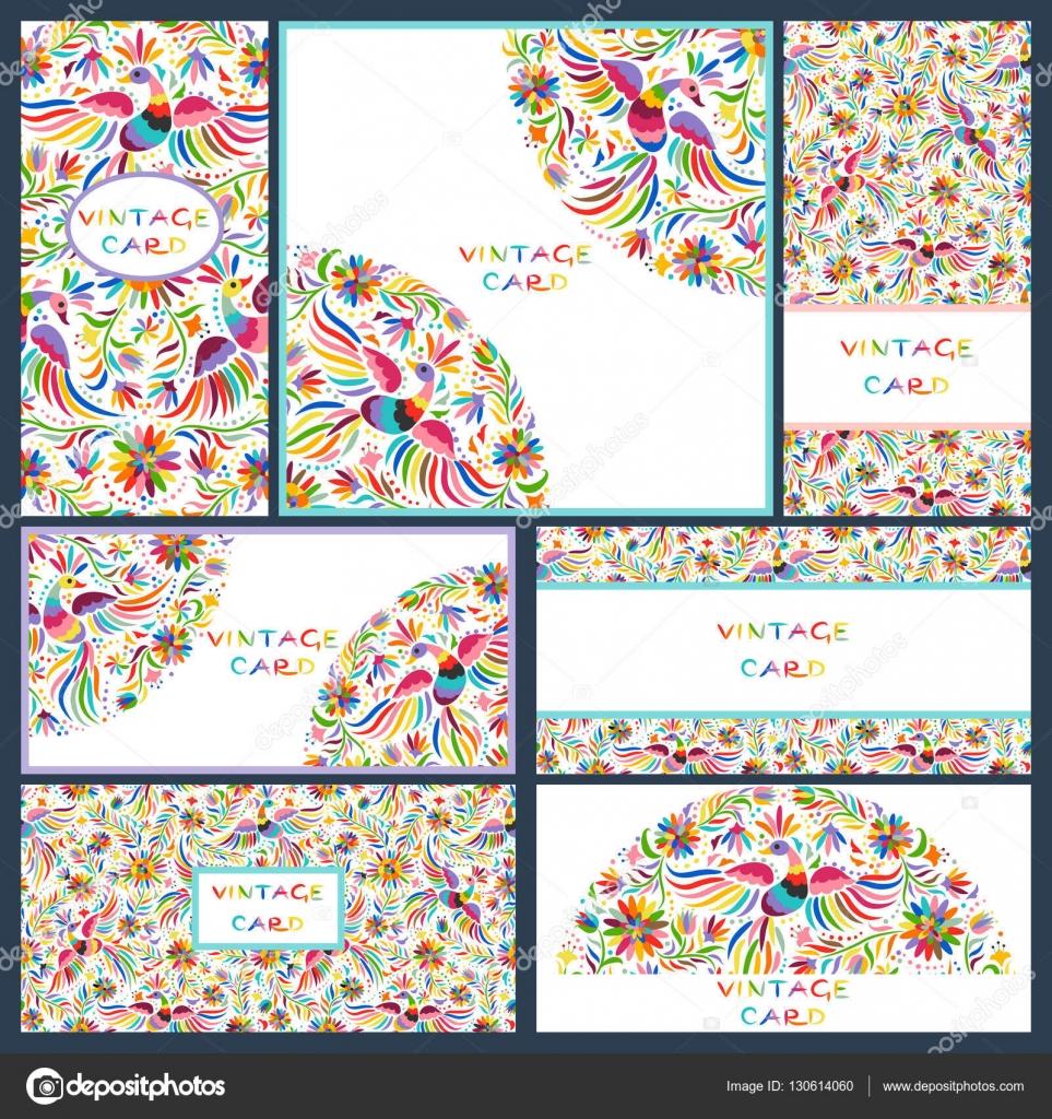 Imágenes Invitacion De Flores Mexicanas Sets Tarjetas De