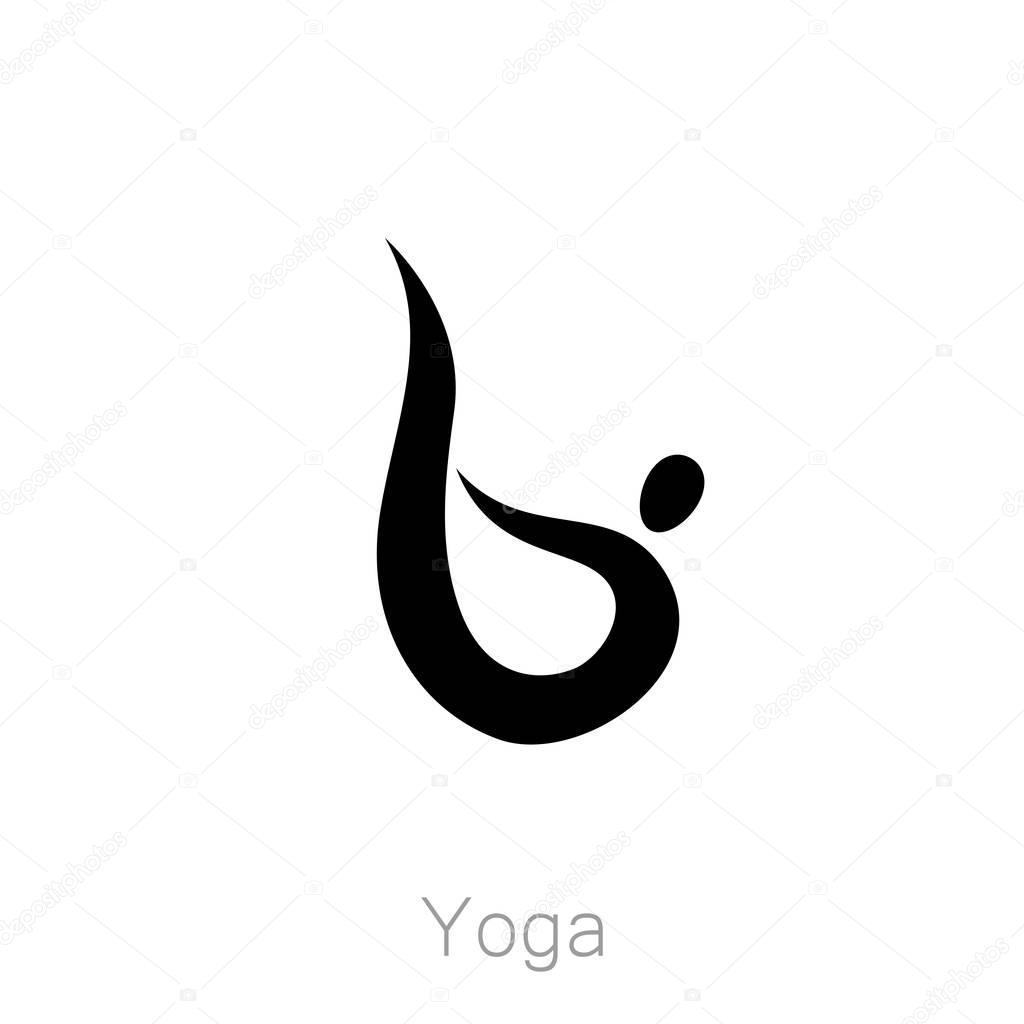 Design For Yoga Class Center Studio Logo Vector Of Illustration By Antoshkaforever