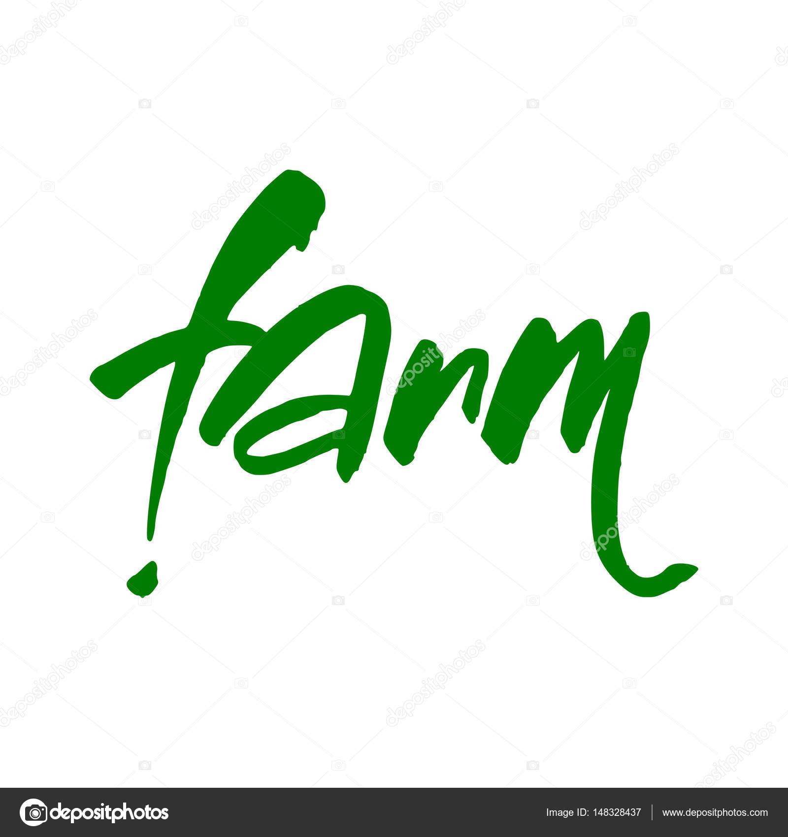 farm lettering template stock photo antoshkaforever 148328437