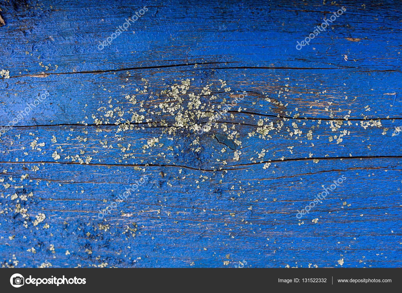 Texture De Vieux Bois Avec Peinture Bleu Usé Vintage Fond