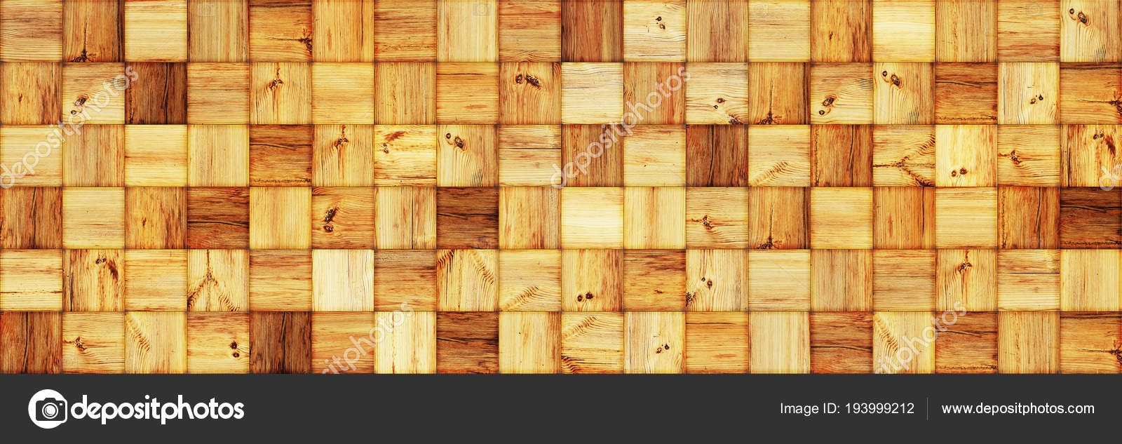 Wood squares wall as a vintage background — Stock Photo © robertsrob ...