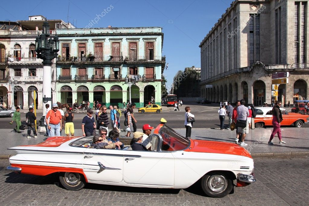 Havana, Cuba. Old car. – Stock Editorial Photo © tupungato #126699220