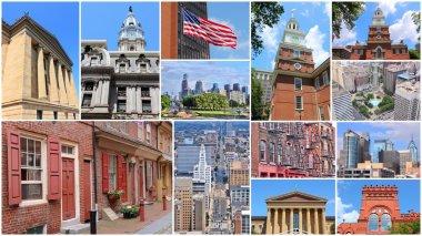 Philadelphia collage photos