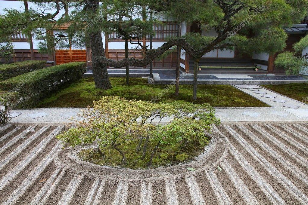 Giardino zen di kyoto foto stock tupungato 127534418 for Giardino zen prezzo