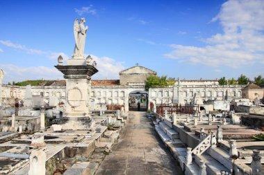 Old cemetery in Cuba