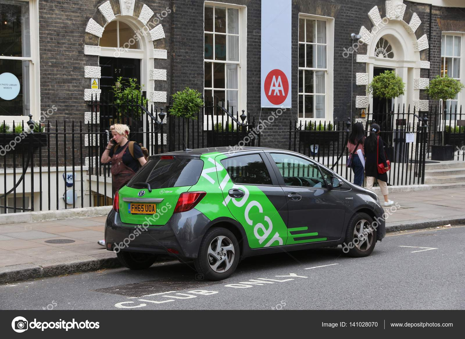 Car Sharing Zipcar Stock Editorial Photo C Tupungato 141028070