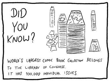 Comic books - trivia random fact