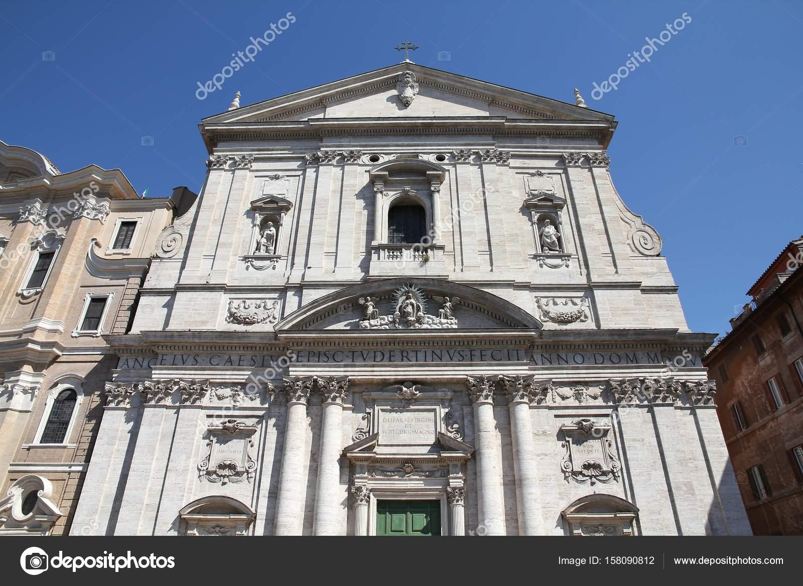 Chiesa Nuova Roma Foto Stock Tupungato 158090812