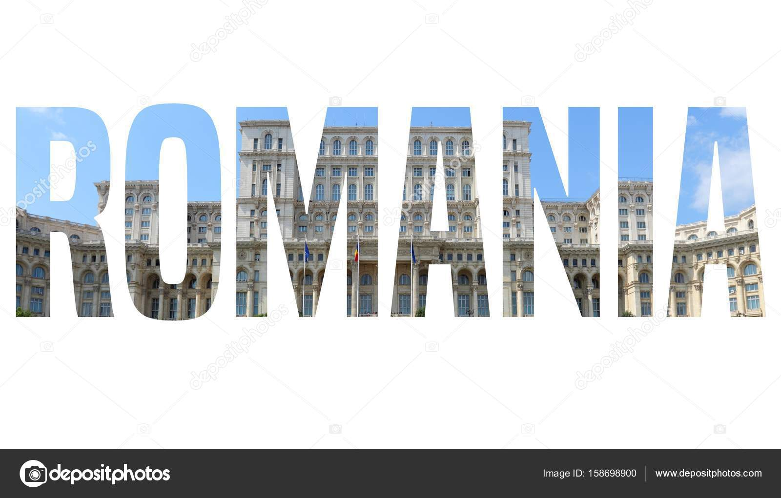romania word travel place stock photo tupungato 158698900