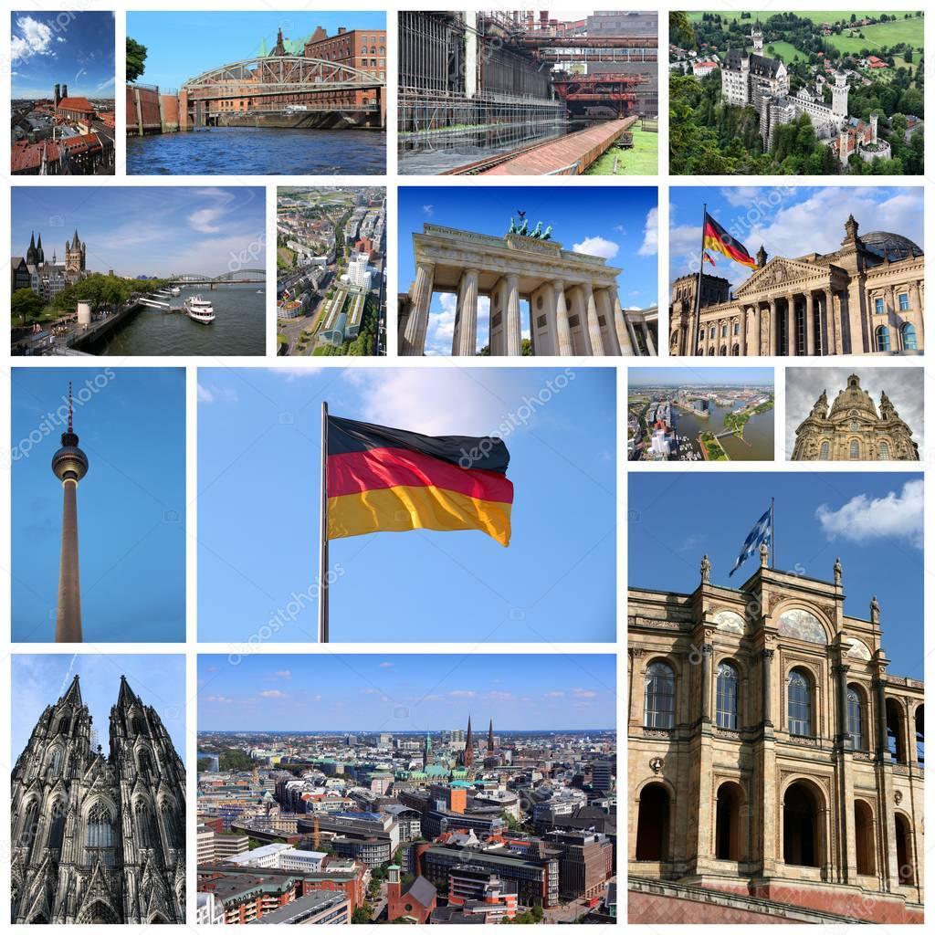 коллаж с картинками по германии вниманию представлена подборка