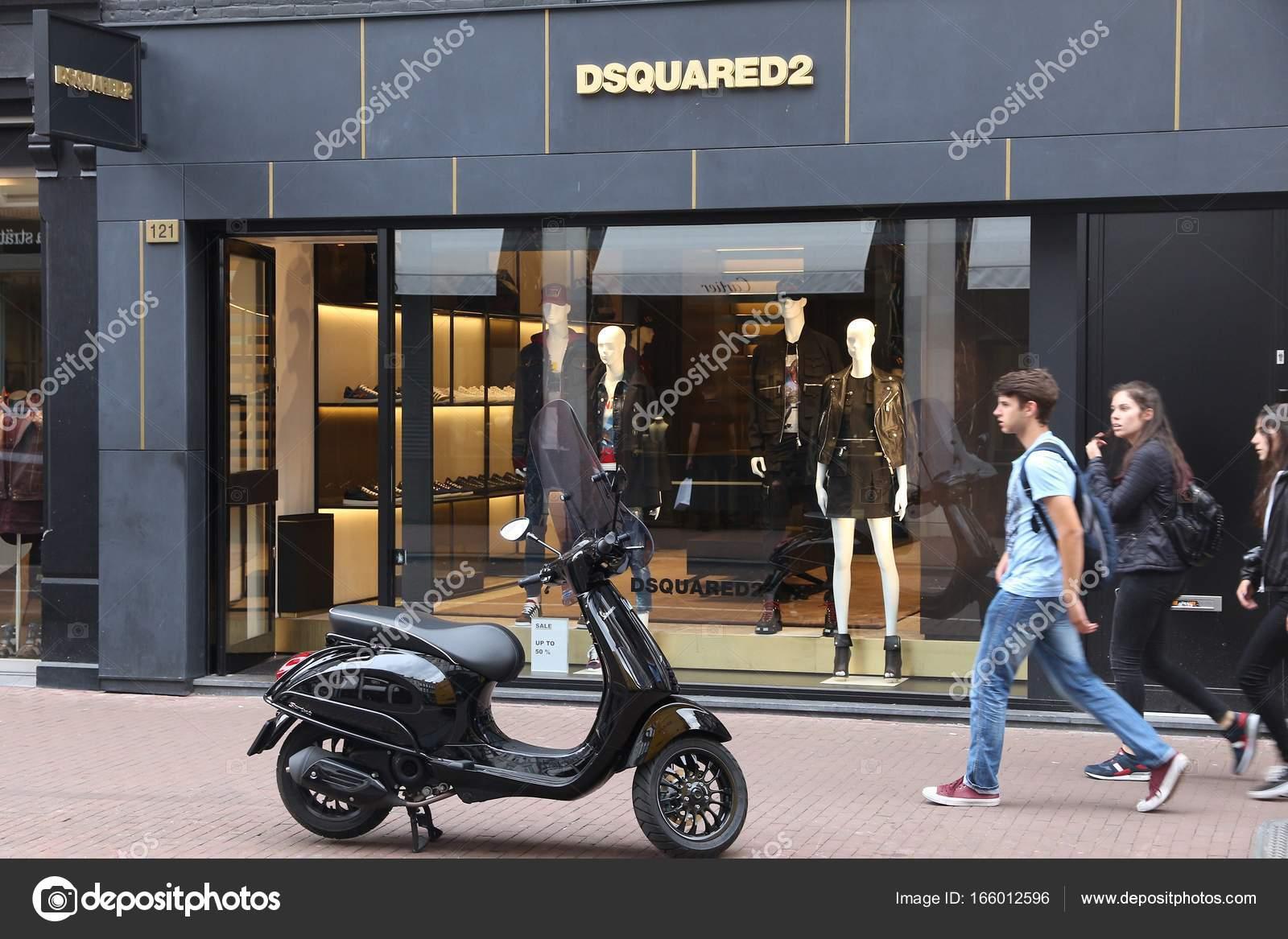 d57f529938f Dsquared2 store in Netherlands – Stock Editorial Photo © tupungato ...