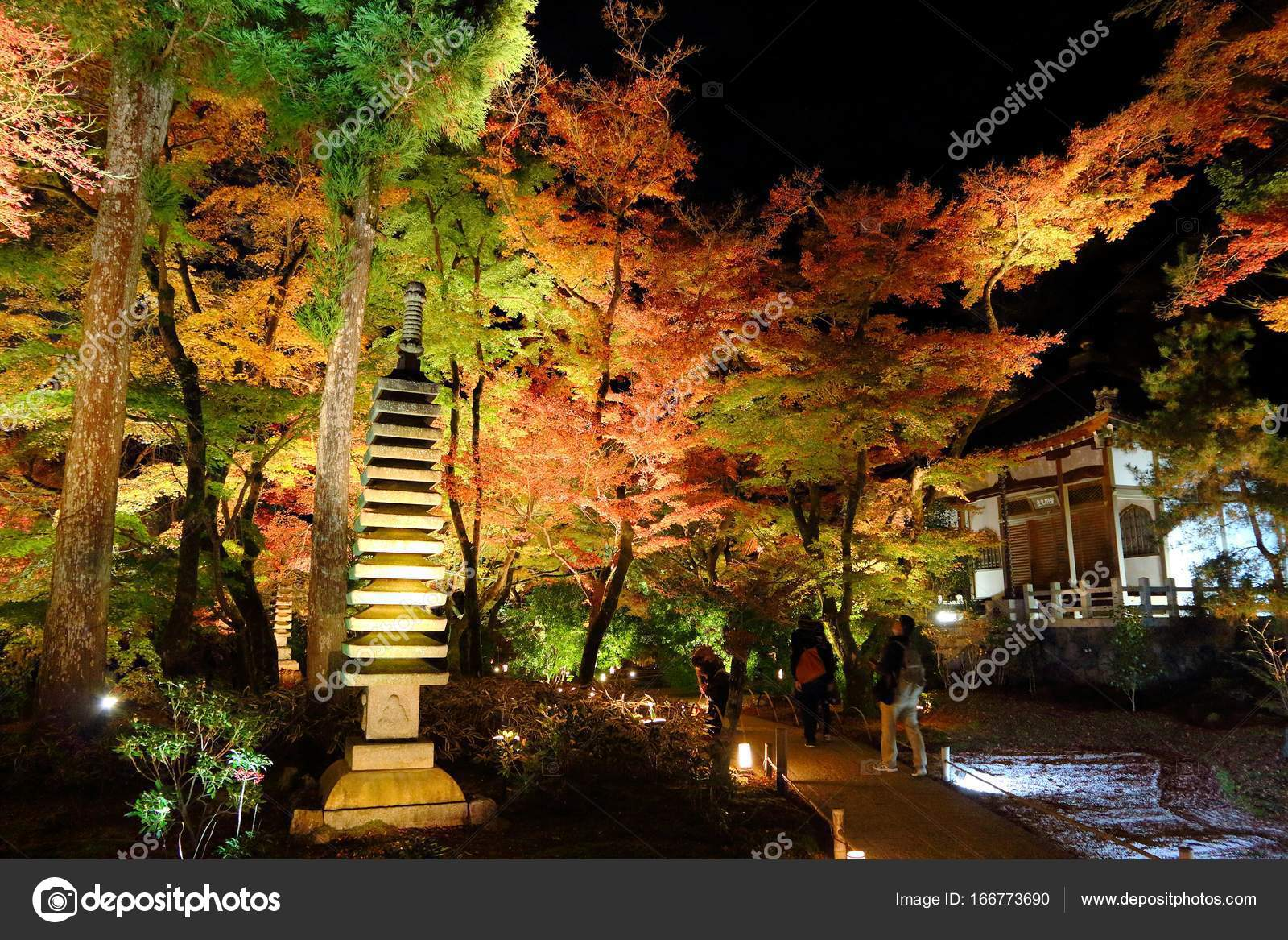 Hogonin gardens in Kyoto – Stock Editorial Photo © tupungato #166773690