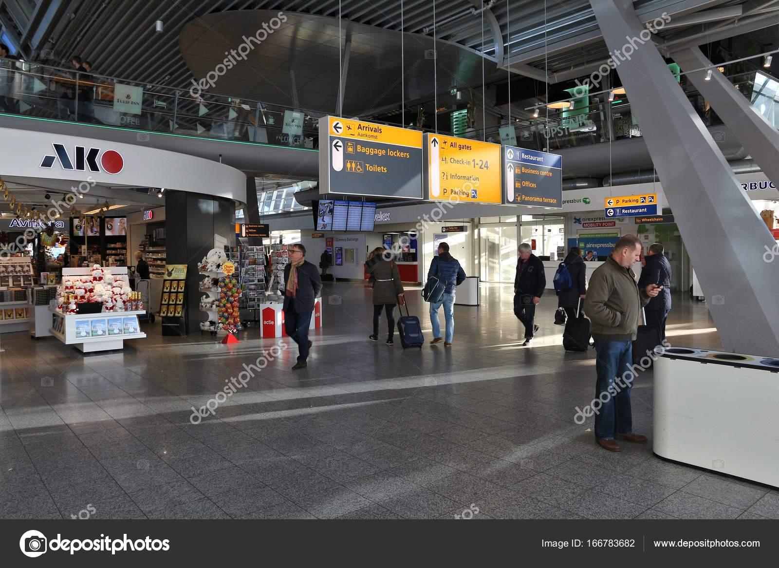 eindhoven airport interieur stockfoto