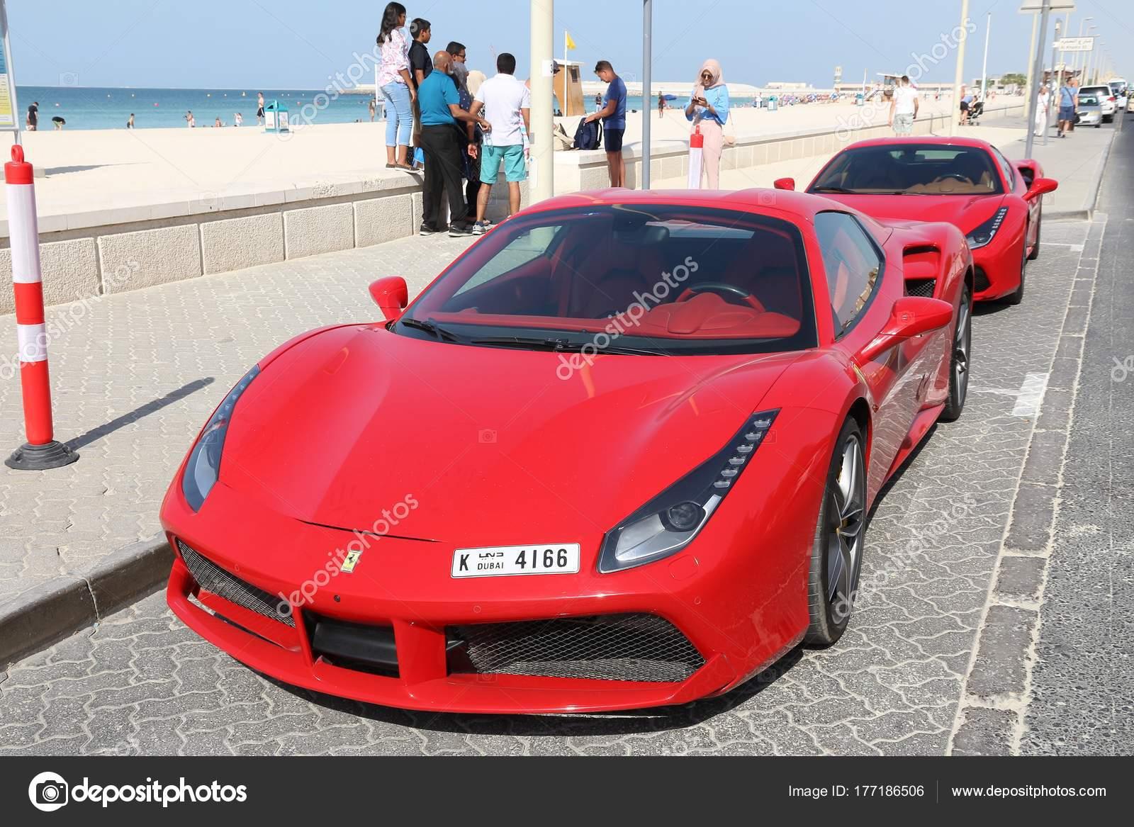 Ferrari 488 In Dubai Stock Editorial Photo Tupungato