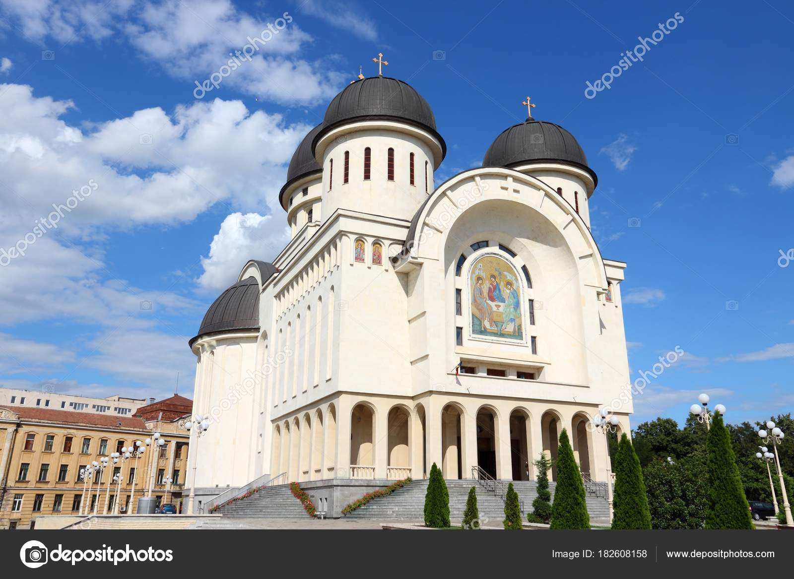 Arad Rumänien arad rumänien stadtarchitektur stockfoto tupungato 182608158