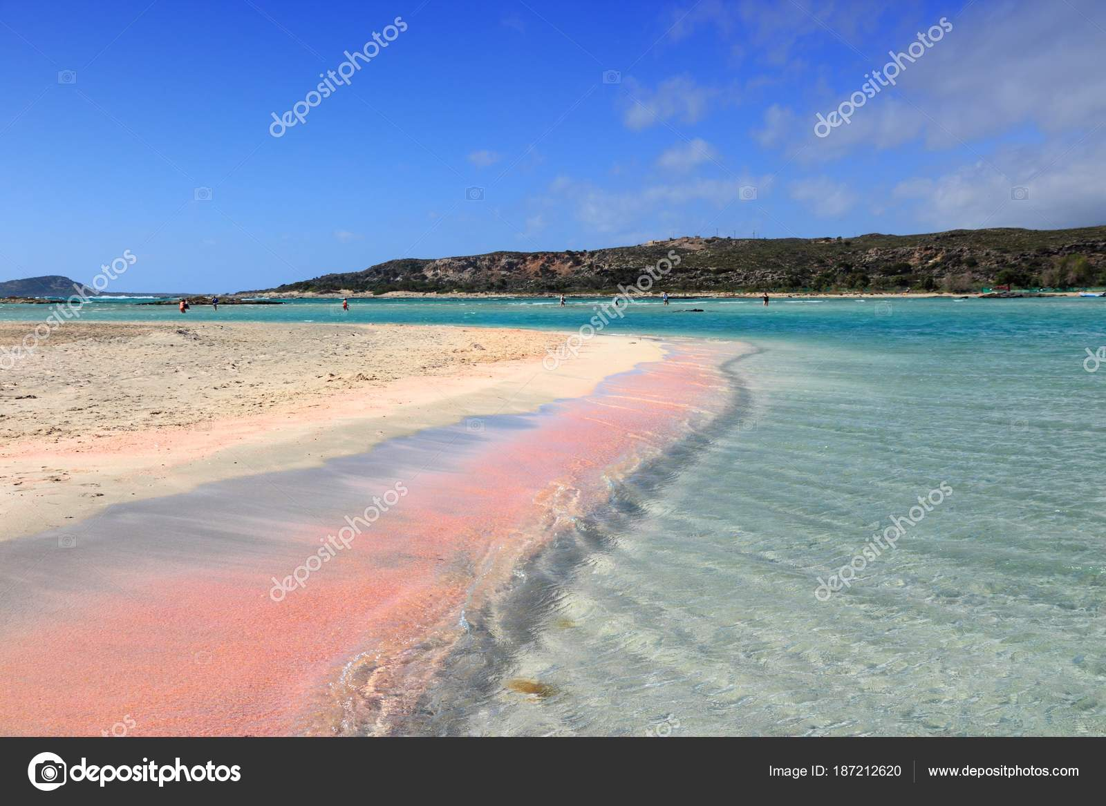 fec0a982b5bc5a Pink sand beach of Elafonisi - Crete Island, Greece. — Photo by tupungato