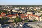 Fotografie Blick auf die Stadt Chemnitz