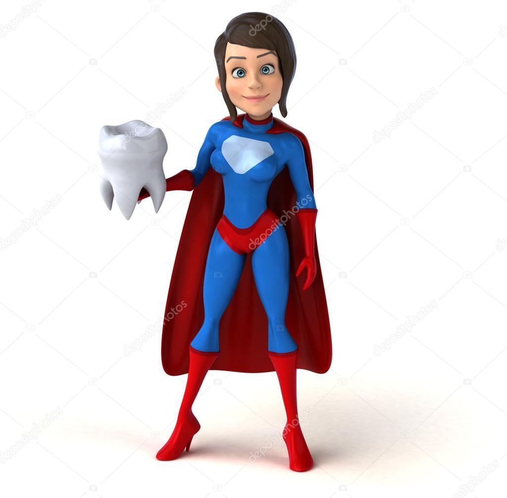 ¡¡¡¡¡¡Cumpleaños Amatista!!!!!! - Página 5 Depositphotos_125953662-stock-photo-super-woman-holding-tooth