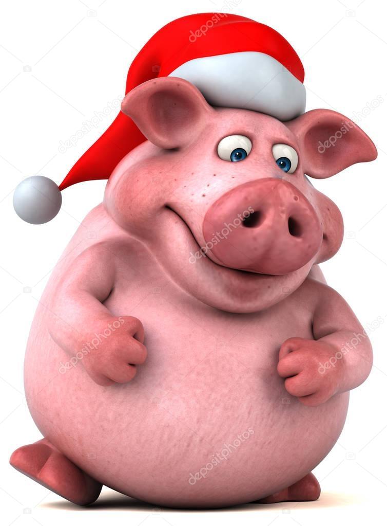 Открытка в три д свинка, днем рождения лет