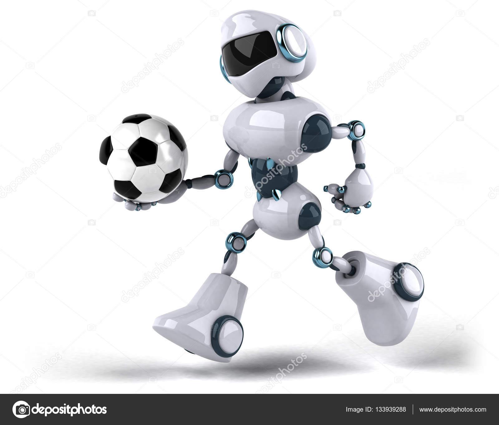 robot holding ball  u2014 stock photo  u00a9 julos  133939288