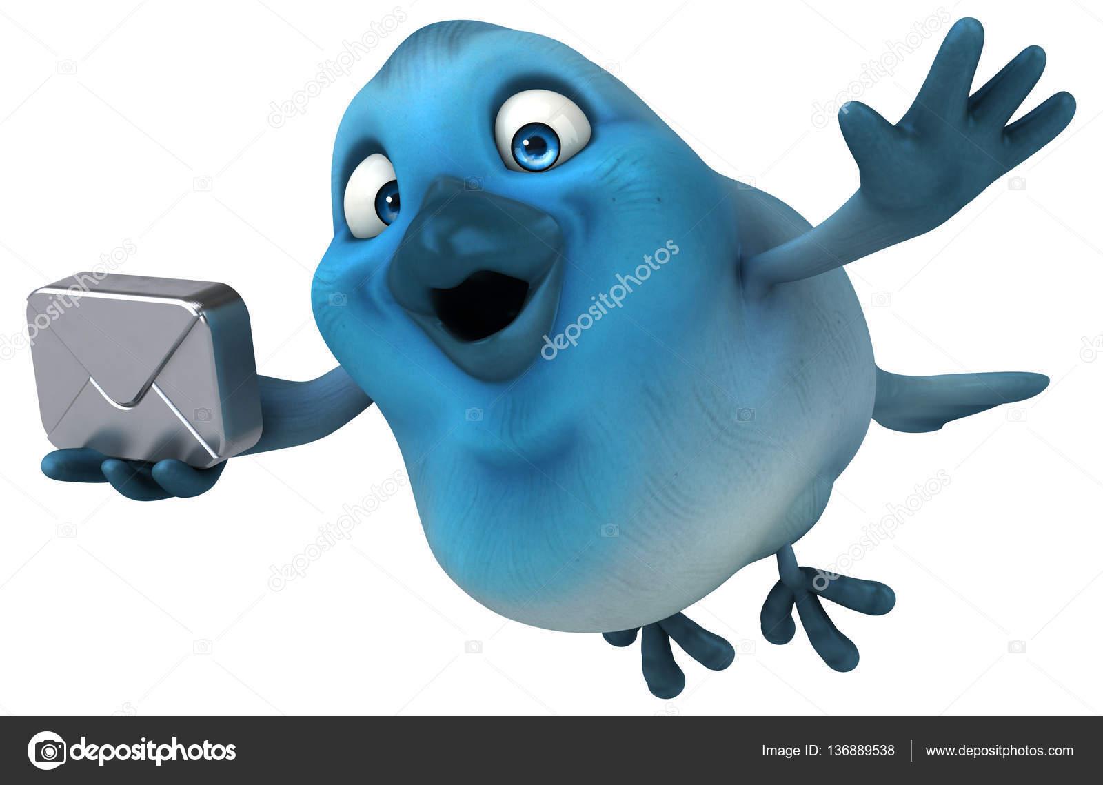 Personaggio dei cartoni animati con e mail u foto stock julos