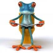 Fun frog -  Illustration