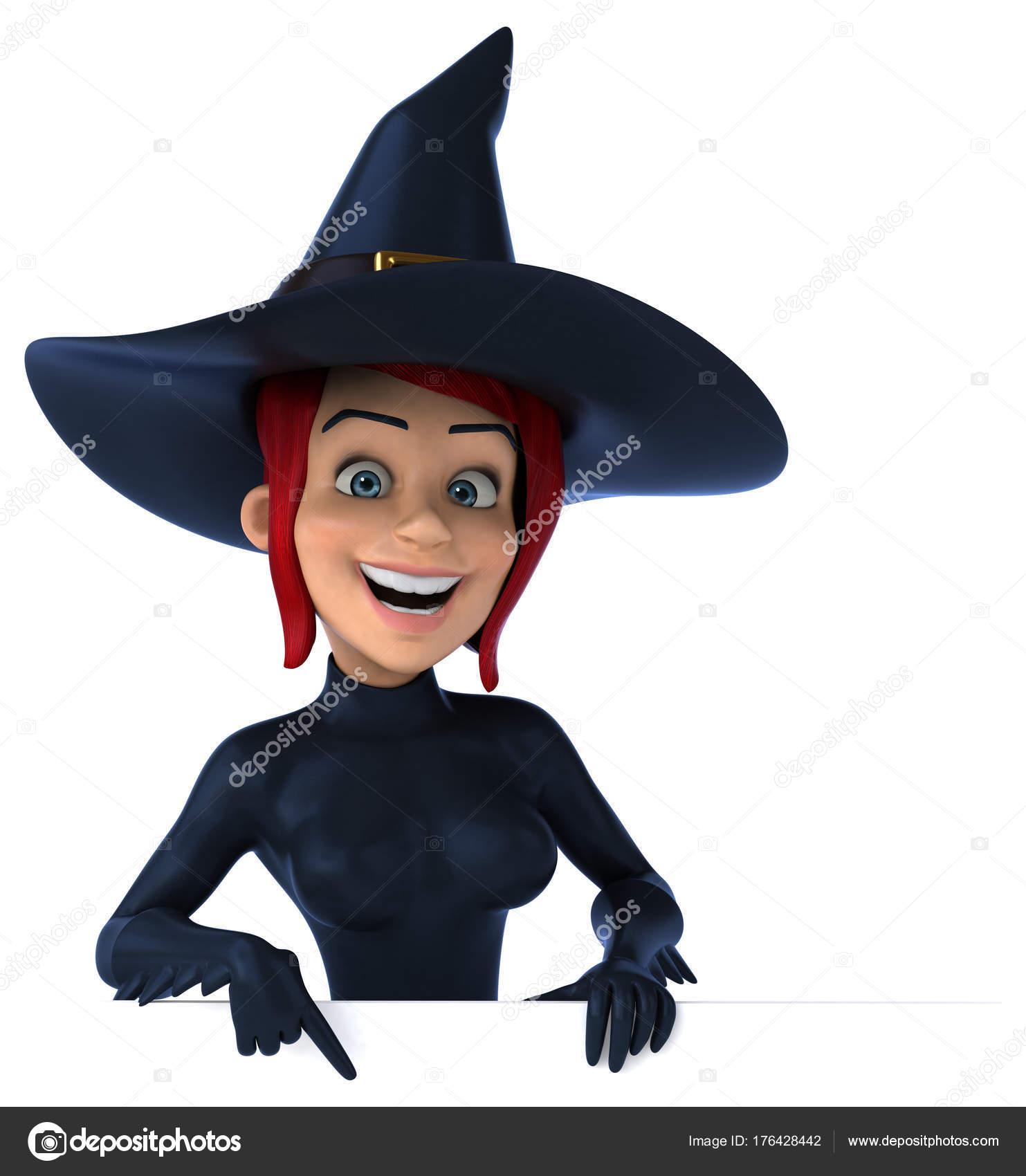 Анимация сексуальная ведьма