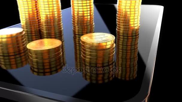 Как открыть денежный канал Depositphotos_181201344-stock-video-blockchain-money-animation-animation