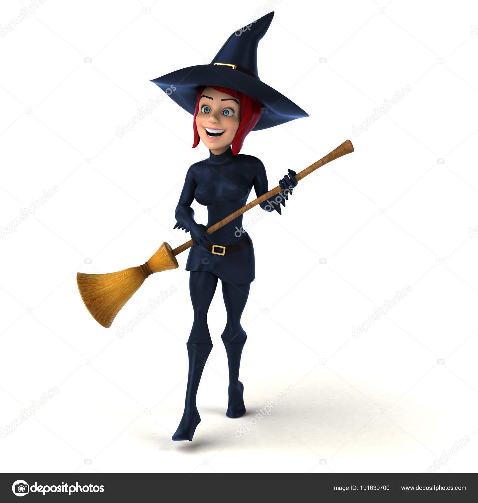 Сексуальная ведьма 3d image
