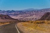 US Highway a Parco nazionale della Valle della morte, California