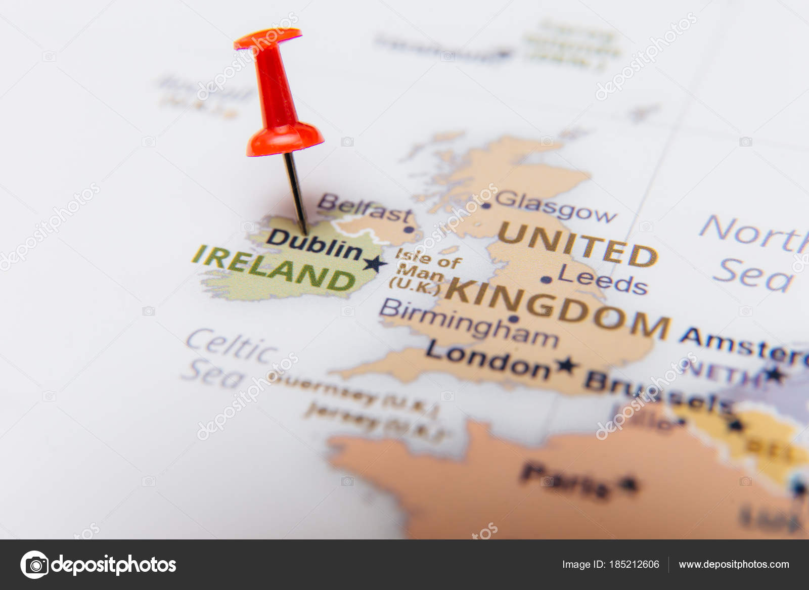 Map ireland red pushpin stock photo viorelkurnosov 185212606 map ireland red pushpin stock photo gumiabroncs Gallery