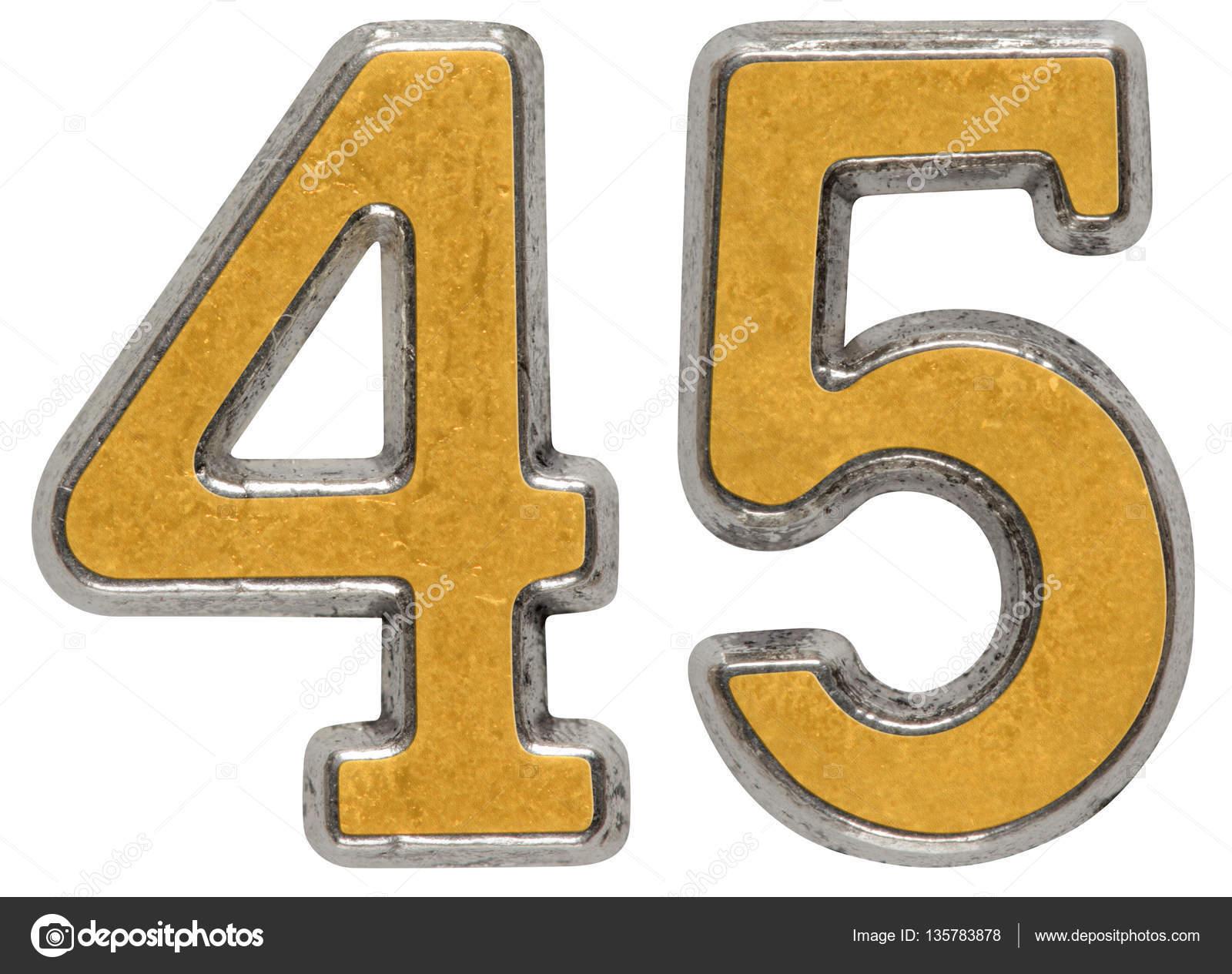 Цифра 45 в картинках, одноклассники