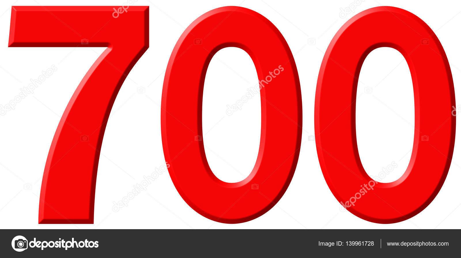 = 700