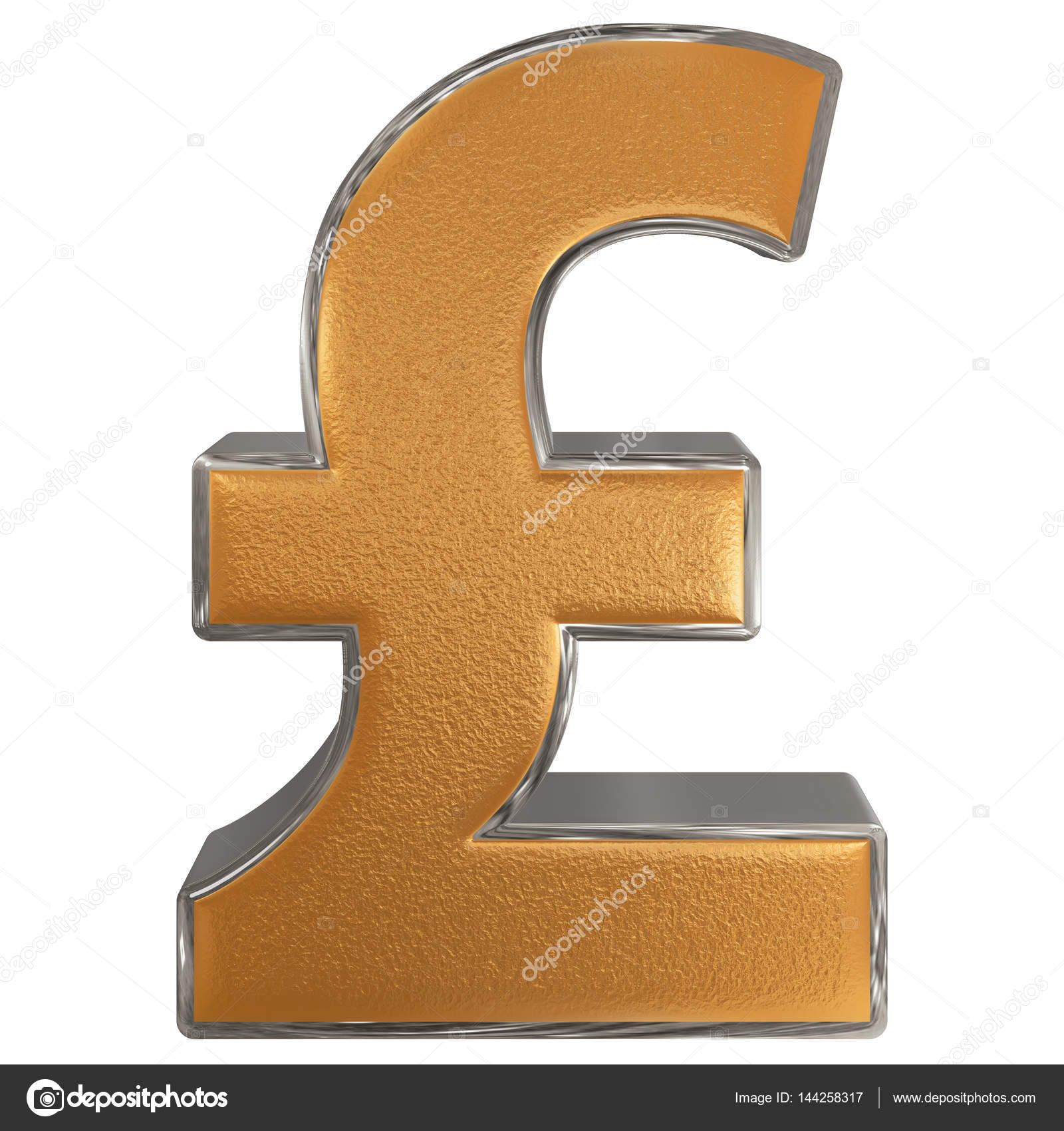 Symbol of british pound sterling isolated on white background symbol of british pound sterling isolated on white background stock photo biocorpaavc Gallery