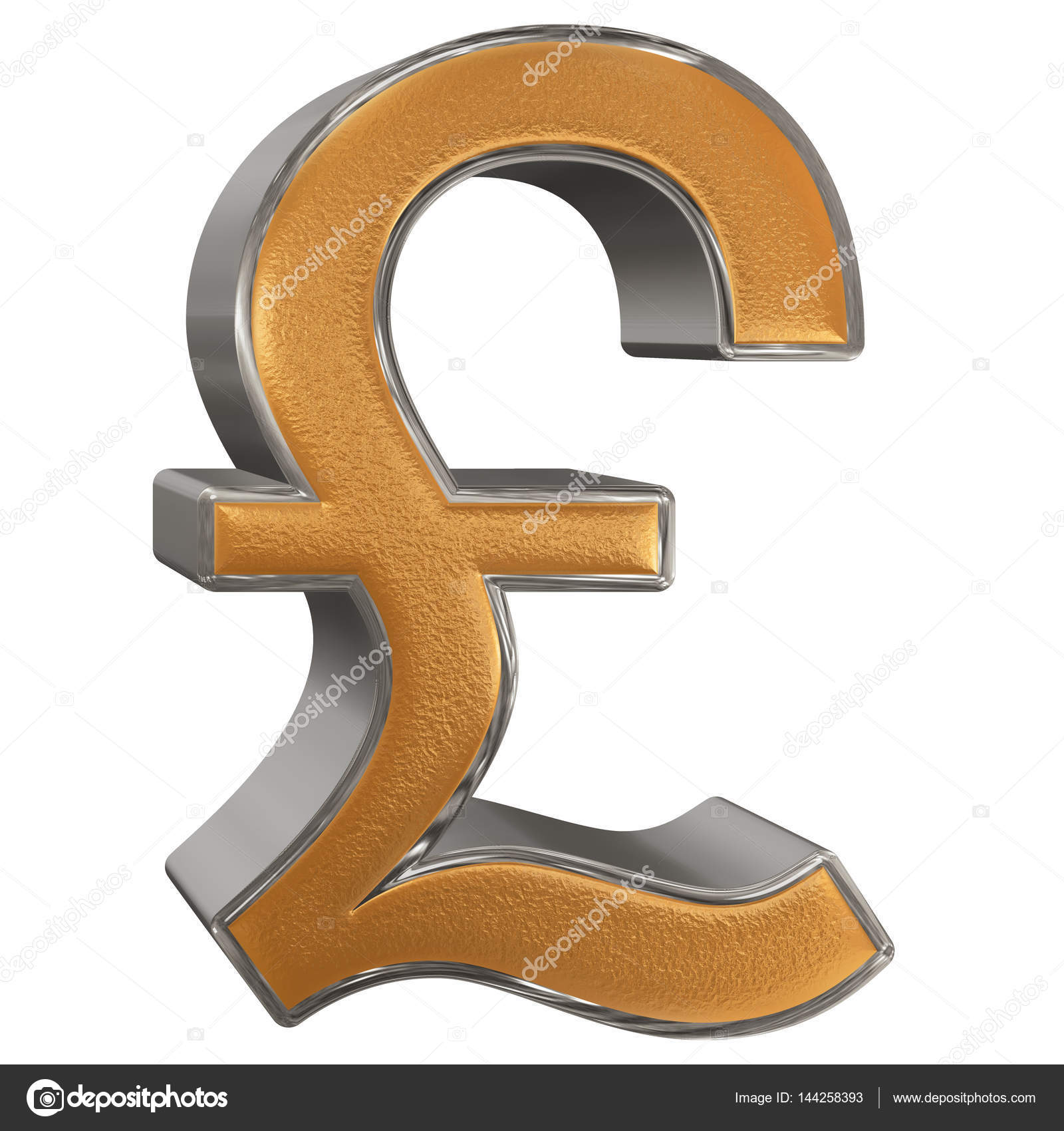 Symbol of british pound sterling isolated on white background symbol of british pound sterling isolated on white background stock photo 144258393 biocorpaavc Gallery