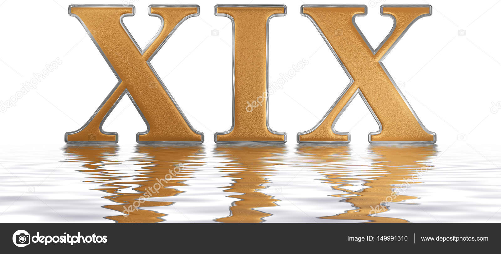 892 En Numeros Romanos Número Romano Xix Undeviginti 19