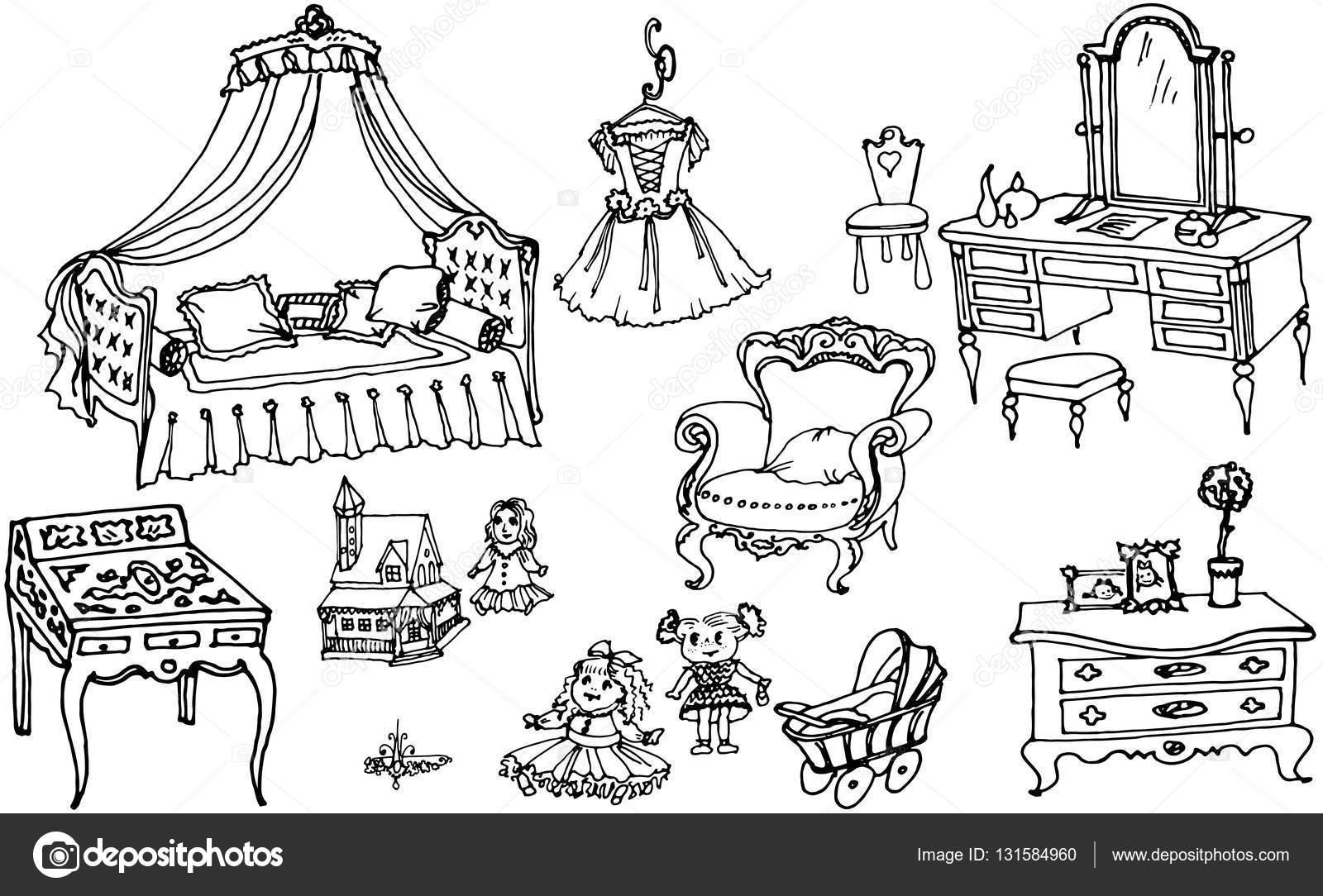 Juegos de nias para dibujar simple juegos de nias para for Dibujar muebles