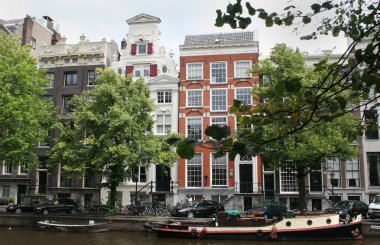 Small and wider houses on Keizersgracht