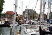 Enkhuizen, Historický přístav plný plachetních lodí